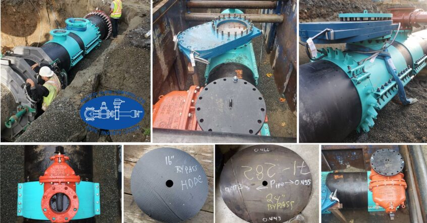 """36"""" & 42"""" Line Stop on Steel & HDPE"""